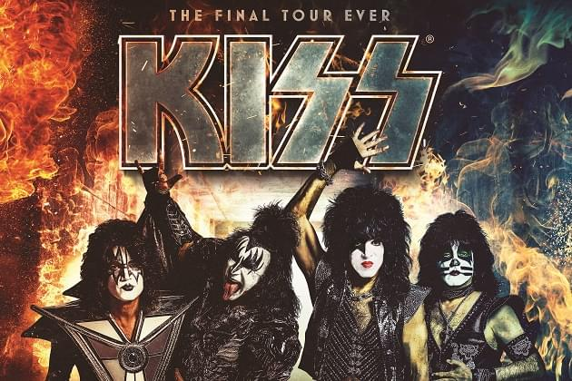KISS WILL PLAY PEORIA ON FEBRUARY 15TH FOR THEIR 'END OF THE ROAD' TOUR AT THE PEORIA CIVIC CENTER!