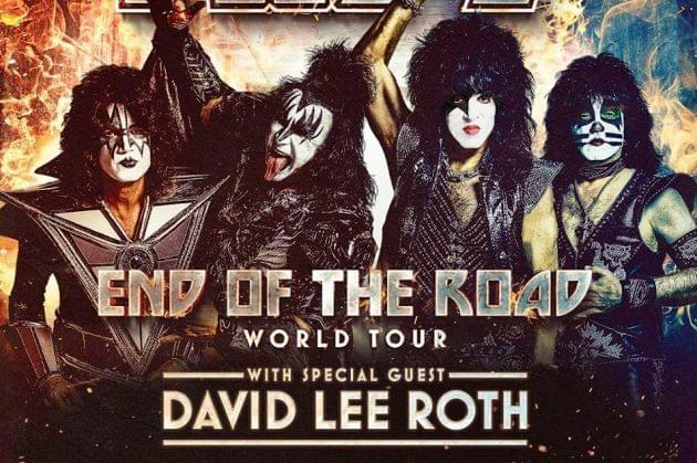David Lee Roth Joins KISS For February Peoria Show!