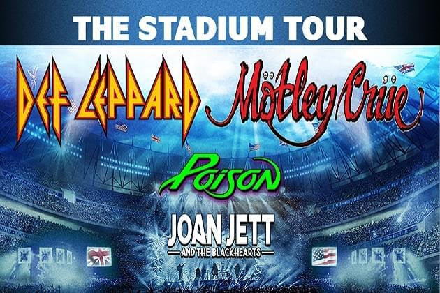 Win Wrigley Field Tickets For Motley Crue, Def Leppard, Poison and Joan Jett With Classic Rewards [VIDEO]