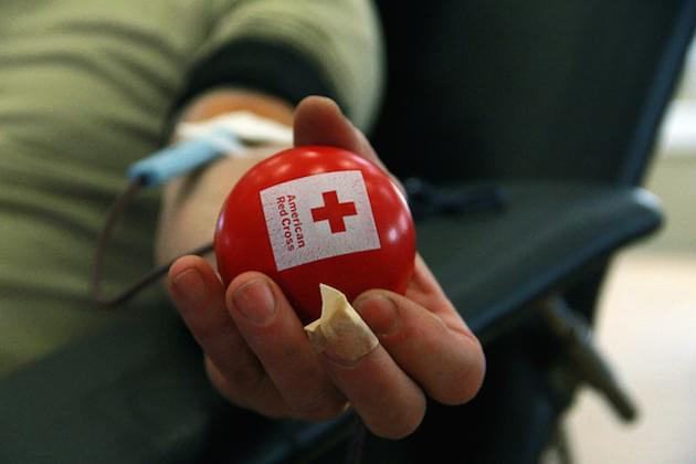 "The 15th Annual ""12 Hours Of Giving Blood Drive"" Is TODAY At The Par-A-Dice Hotel With The American Red Cross!"