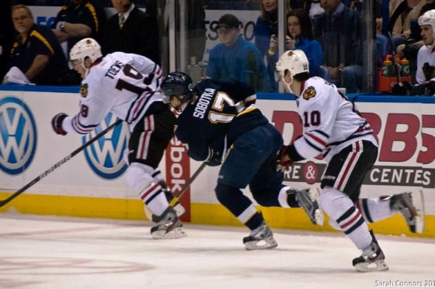 Slap Shot To St. Louis Stops Give You Shot At Tickets And Bus To Chicago-STL NHL Action!