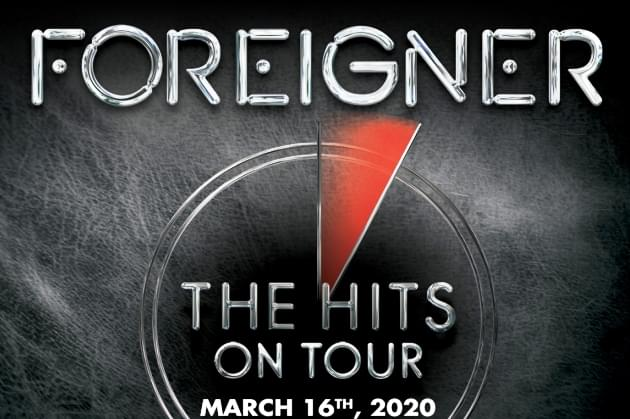 Win Tickets For Foreigner's Peoria Show Monday, March 16, During 5 O'Clock Free Ride [VIDEO]