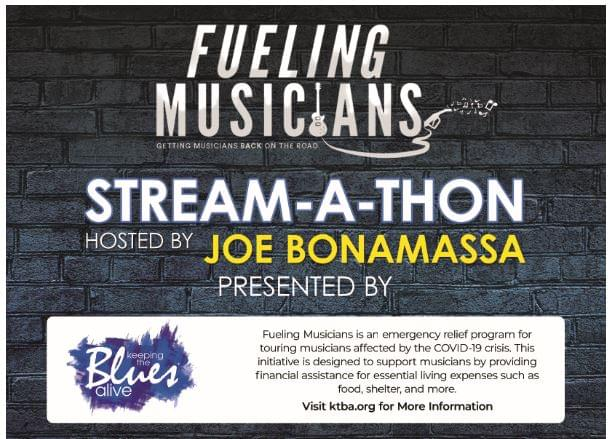 Check Out the Fueling Musicians Stream-a-Thon!