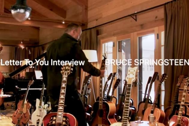 Bruce Springsteen,VedderAndGrohl Chat About Music And More [VIDEO]