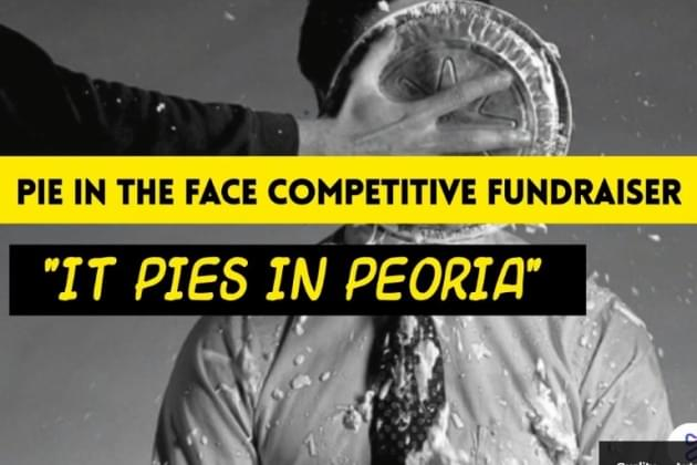 Anna Kinkade Joins The Peoria Jaycees Pie In The Face Competition [VIDEO]