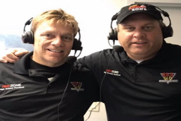 10th Season Of The CEFCU 'Red Zone High School Football'  Play-By-Play Coverage With Doc And Tony Is Baaack!