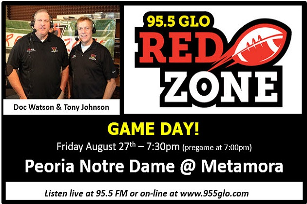 The Red Zone High School Game Of The Week Kicks-Off Tonight At Metamora!