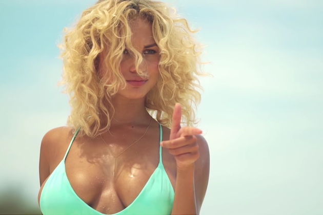 Rose Bertram Shows Off Dance Moves During Sports Illustrated Photo Shoot [VIDEO]