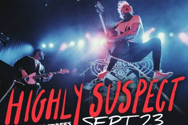 Highly Suspect To Play The Castle Theatre
