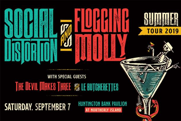 Social Distortion & Flogging Molly Summer Tour 19