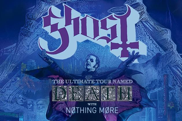 Ghost and Nothing More in Moline!