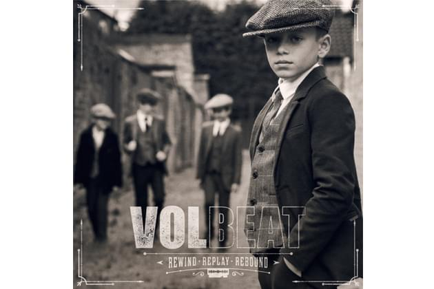 "Volbeat ""Rewind, Replay, Rebound"" Album Cover"
