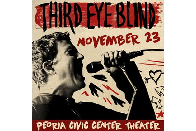 Third Eye Blind Play Peoria Civic Center Theater This Saturday! [DETAILS]
