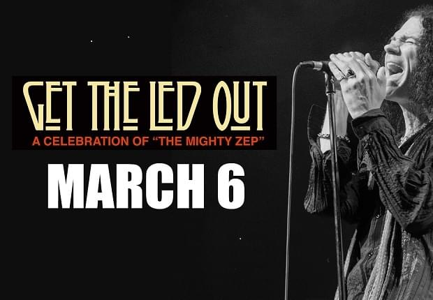 """Get The Led Out"" Pre-Sale Is Thursday From 10am-10pm! Click Link!"