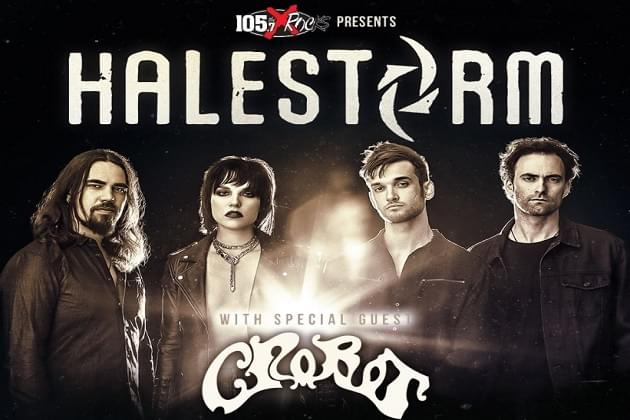 The X Welcomes Back HALESTORM To Peoria Civic Center Theater On July 14th!