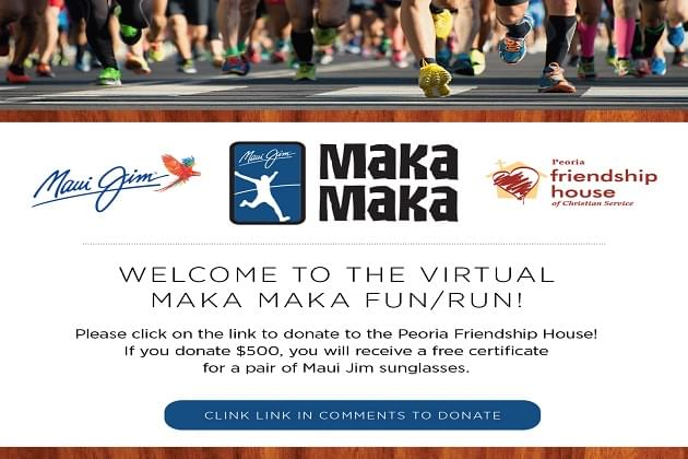 "The 17th Annual Maui Jim Maka Maka Run/Walk Has Gone ""Virtual"""
