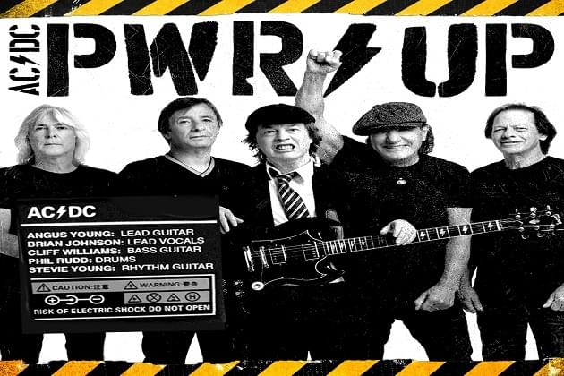 "AC/DC Set To Release New Album ""PWR/UP"" On November 13th!"
