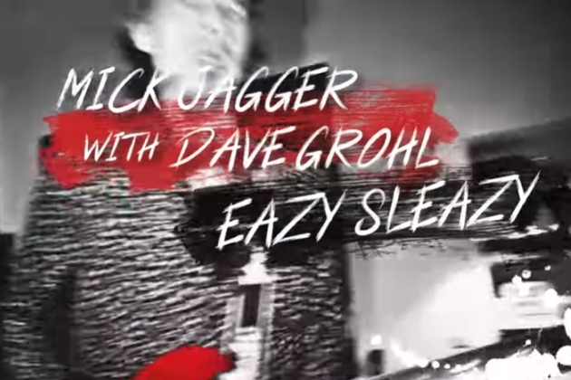 Eazy Sleazy Mick Jagger And Dave Grohl [VIDEO]