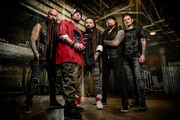 Five Finger Death Punch Score Their 12th Number One Song On The Rock Chart!
