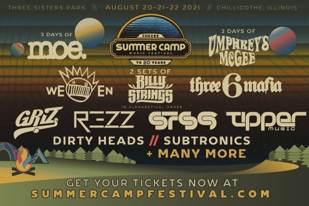 Summer Camp 21 Is Back At Three Sisters Park August 20, 21 & 22