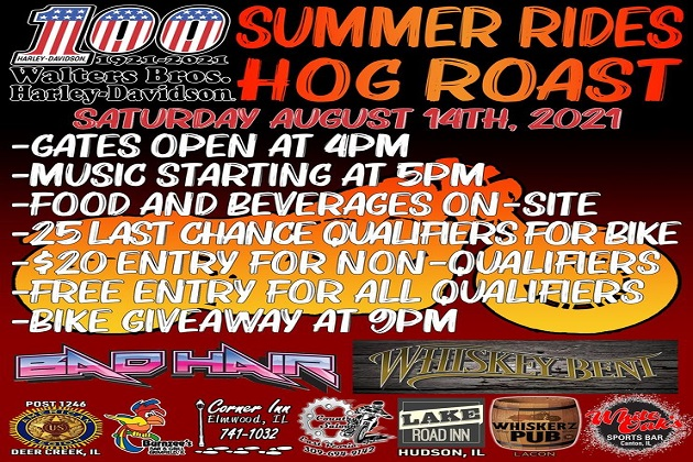 This Saturday! Win A New Harley From Walters Brothers With St. Judes Summer Rides