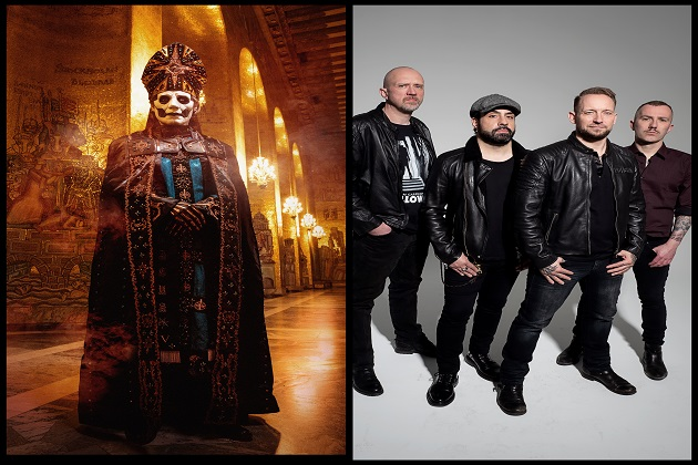 Ghost And Volbeat Set To Co-Headline The Allstate Arena In Chicago In February!