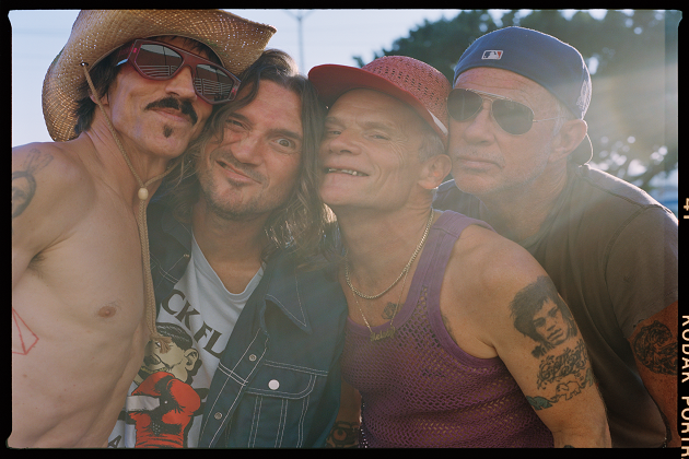 Red Hot Chili Peppers Announce Stadium Tour Dates For 2022!