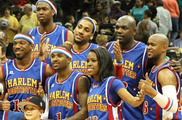 Harlem Globetrotters Fan Powered World Tour Reminder