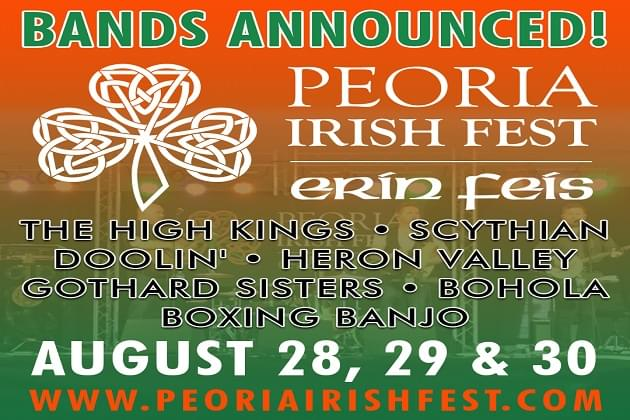 Irish Fest Bands Announced! Who'll Be Ready For Some Fun Again ?