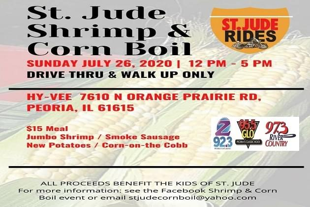 St. Jude Rides 12 Annual Shrimp & Corn Boil!  A Sunday Success
