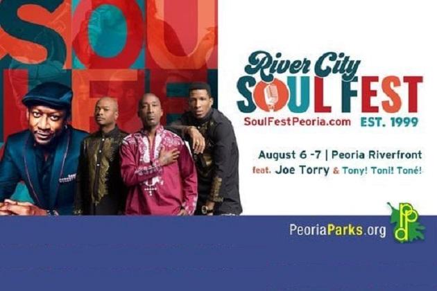 Friday Night! Tony Toni Tone Hits Soulfest At Peoria Riverfront Park