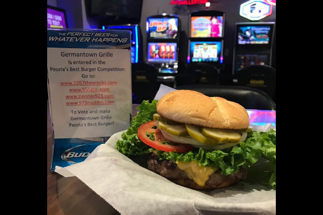 Peoria's Best Burger Is… Germantown Grille in Germantown Hills