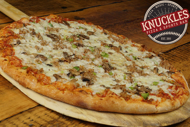 Get Quad-Cities Style Pizza For Half Price With Knuckles! [SWEET DEAL]