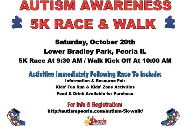 Don't Miss The Autism 5k & Walk at Bradley Park October 20th [DETAILS]