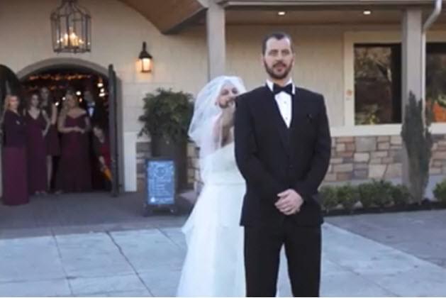"Wedding ""First Look"" Prank"
