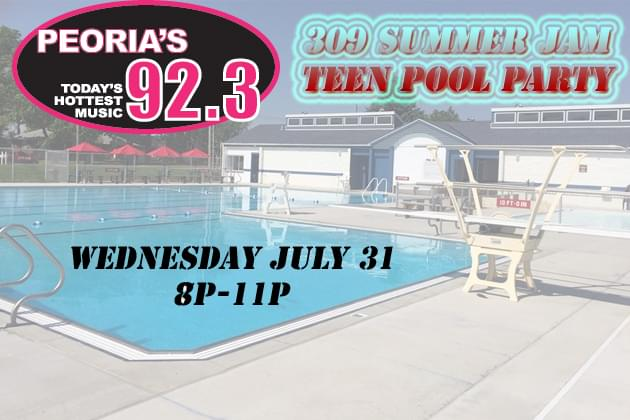 Don't Miss Bartonville's 309 Summer Jam Teen Pool Party at Limestone Township Pool [DETAILS]