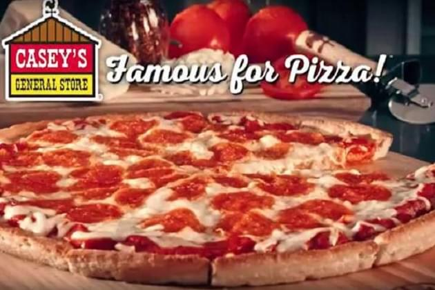 Caseys Famous For Pizza & Free This Friday In Chillicothe
