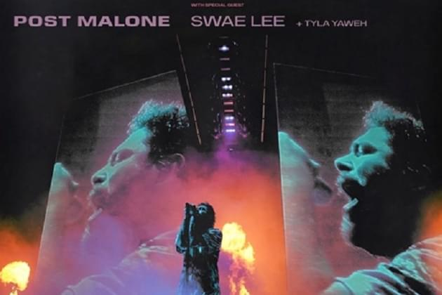 Post Malone February 7. Win This Week On The Morning Grind at 8:30