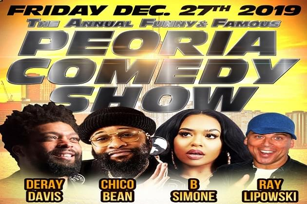 DeRay Davis Back To Peoria To Pump Up New Years Eve! Who's Ready!