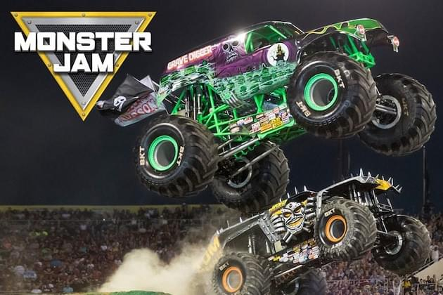 Monster Jam Free Hook Ups This Friday With Brian & The Morning Grind