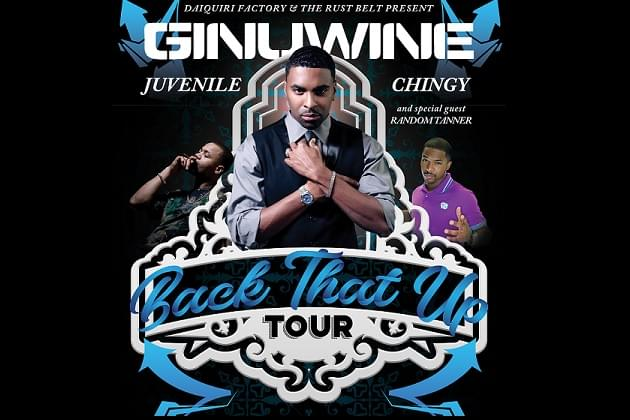 Back That Up Tour With Chingy, Juvenille Ginuwine March 21. Postponed