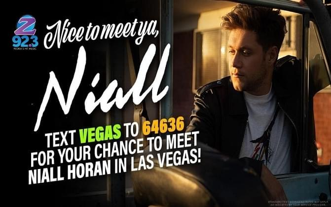 Take A Friend To Meet Niall In Las Vegas In May