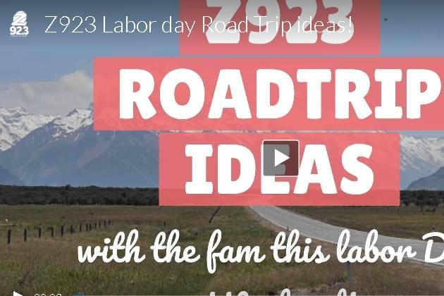 Z923 Labor day Road Trip Ideas