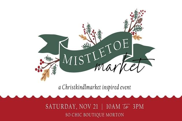 Mistletoe Market In Morton, Outside Saturday! With Over 50 Local Vendors