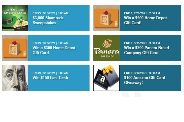 Friends With Benefits? Win Panera, Amazon, Home Depot Gift Cards!