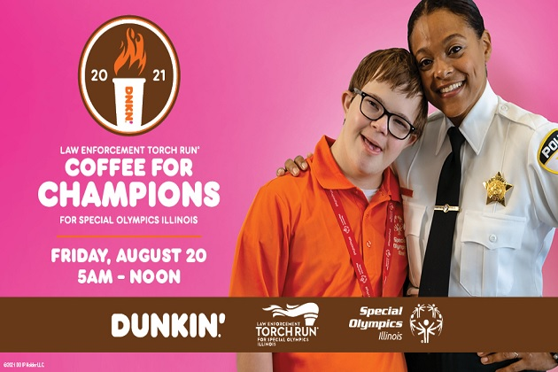 Thank You Peoria! Big Donations To Dunkin With Special Olympics & Coffee For Champions!