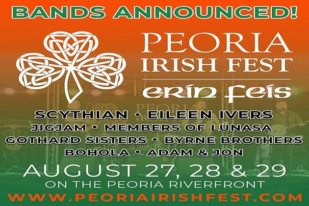 Peoria Irish Fest Happens This Weekend! Win Tix Here!