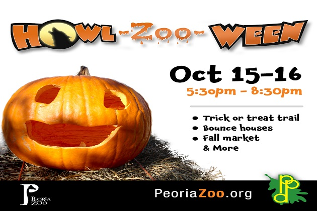 Peoria Zoo's Howl-Zoo-Ween Is Happening This Friday & Saturday