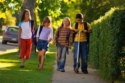 Do you think more kids should walk home from school?
