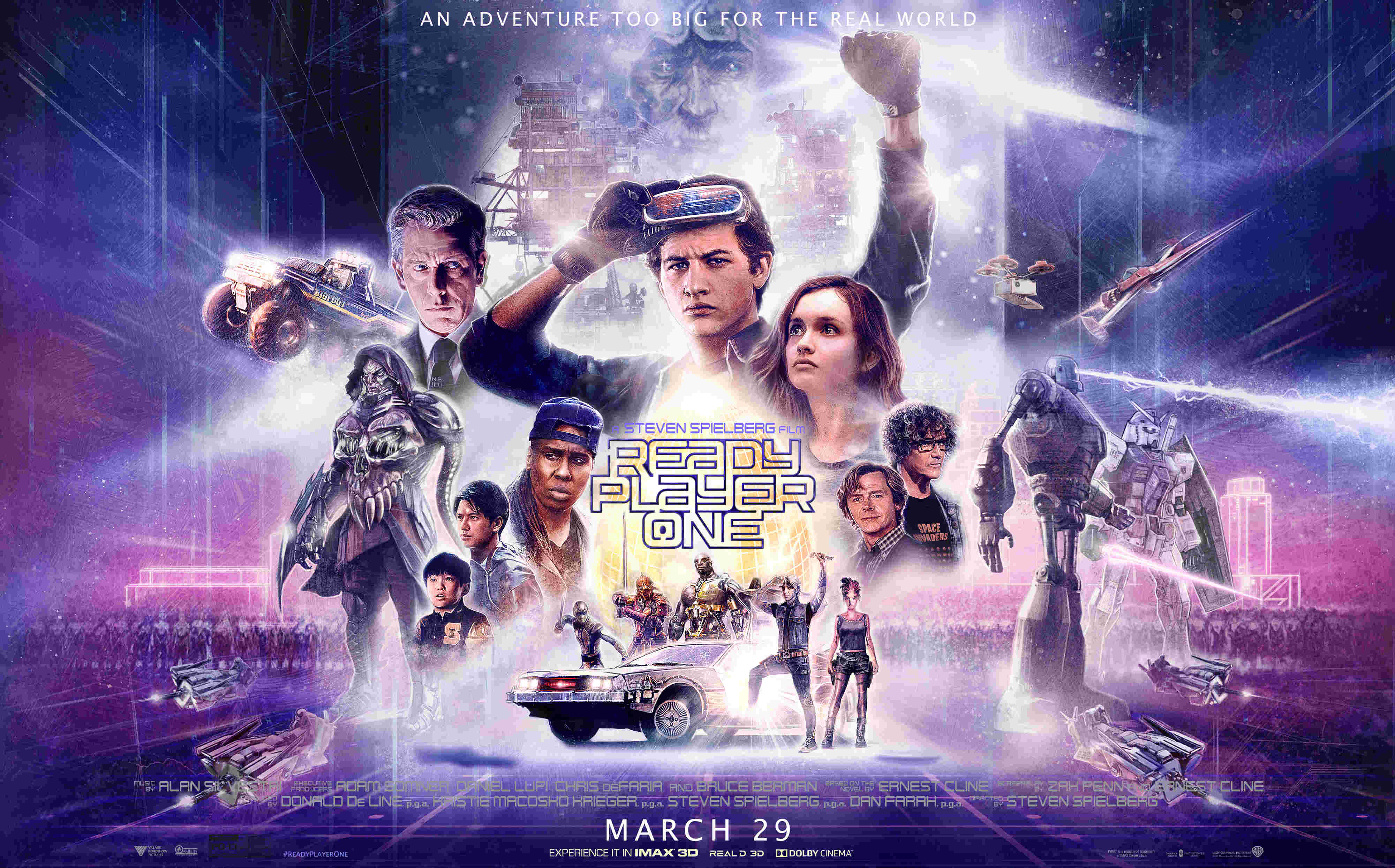 Who else is geeking out about Ready Player One?!